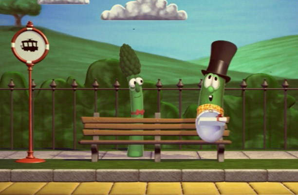 Veggie Tales at the Railroad | Pure Flix