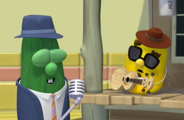 Veggie Tales Blues with Larry | Pure Flix