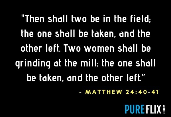 Matthew 24:40-41 | Pure Flix