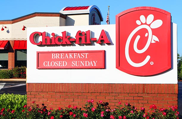 Chick-fil-A Holds to Beliefs at Falcons' New Stadium