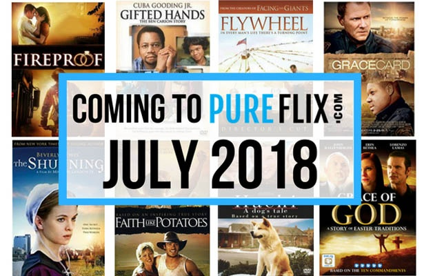 Coming to Pure Flix in July: Fireproof and More!